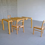 Tomoyuki Ueno, object, table, chairs, 2009, ©Tomoyuki Ueno